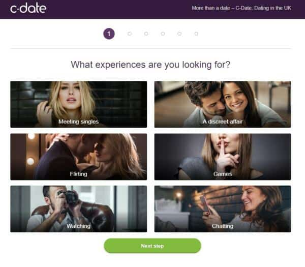 C-Date.co.uk - Signup